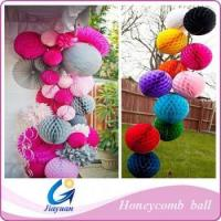 decoration party honeycomb paper ball