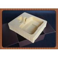 Buy cheap good quality flocking blister tray for packaging wine,customized new blister insert with flocking product