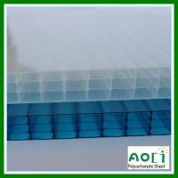 Buy cheap 16mm fourwall polycarbonate roofing panel from wholesalers