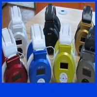 Buy cheap E011 Stereo Headphone MP3 Player Headset TF Card and Music Play Headset style Mp3 Player product