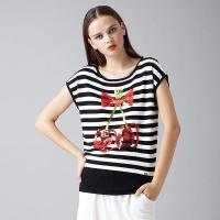 Buy cheap 2016 Cute Cherry Sequin Ladies Jumper product