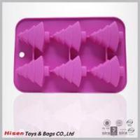 Buy cheap New style silicone cake mould, Christmous tree decoration mold product