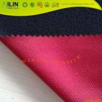 Mesh bonded fleece Breathable softshell jackets fabric