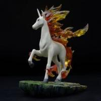 Buy cheap Polyresin Crafts Life-like Garden Decorative Outdoor Running Horse Sculpture Statue from wholesalers