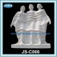 Buy cheap famous white three graces marble statue product