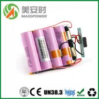 lithium ion battery Product  24V 16Ah Li ion battery pack with high quality PCM