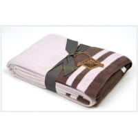 Buy cheap cotton acrylic blanket from wholesalers