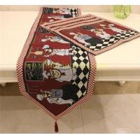 Buy cheap Jacquard Cotton Polyester Table Runner product