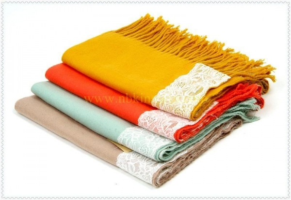 Quality acrylic scarves shawls for sale