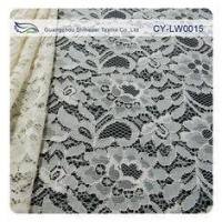 Buy cheap Nylon Viscose Corded Lace Fabric For Clothing 145CM - 150 CM Width CY-LW0015 product