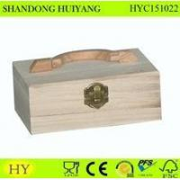 wood box packing handle box
