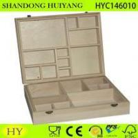 Buy cheap compartments wooden essential oil box, oil bottle storage box product