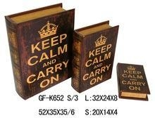Quality Book Box classical printing gift book box for sale