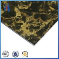aluminum composite panel 2mm marble design ACP sign board