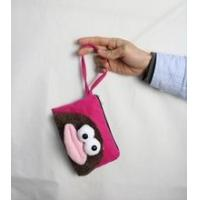 Buy cheap Coin purse/wallet factory price big mouth chinese silk coin purse product