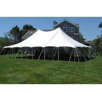 Buy cheap White party pole tent from Wholesalers