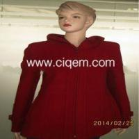 Buy cheap Apparel Processing Services ladies fashion casual long woolen coat product