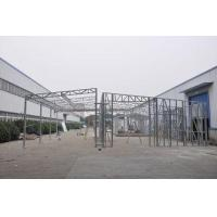 Buy cheap Waterproof Prefabricated Sheds / Metal Car Sheds With Galvanized Steel Frames product