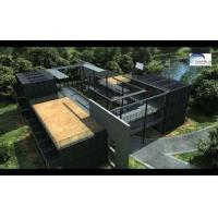 Buy cheap Solar Panel Prefab Container Homes Fully Finished Movable For Office product