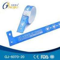 Buy cheap GJ-8070-1 Wholesale Professional Hot Selling custom made wristbands product