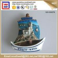 Buy cheap Popular Stylish Decoration Customized 3D Resin Country Souvenir Fridge Magnets product