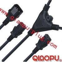 Buy cheap one to Two connectors,power cord,power cord three-way connector product