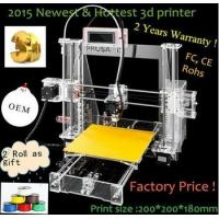 Buy cheap 2015 Newest and Affordable Reprap Prusa I3 3D Printer China product