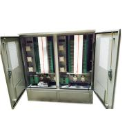 Buy cheap Outdoor Stainless Steel 1152 Core Fiber Optic Cross Connect Cabinet product