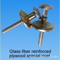 Buy cheap Glass fiber reinforced plywood special rivets from wholesalers