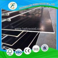 Buy cheap FANCY PLYWOOD Construction Cement 1200 * 2400 mm Black Film Faced Plywood from wholesalers