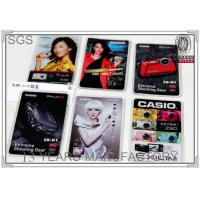 Buy cheap Plastic id cell phone sticker place pvc card holder product