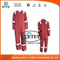 Buy cheap Flame retardant rope Orange pyrovatax cotton faddish workwear with FR and heat insulation material product