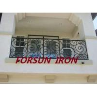 Buy cheap China factory galvanized wrought iron balcony railing for big projects product