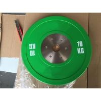 Buy cheap 10KG Green Competition Bumper Plate from Wholesalers