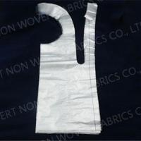 China Disposable Chef Hats Products Shandong Factory disposable pe hdpe ldpe apron for kitchen cooking on sale