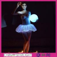 Buy cheap Light up women clothes YQ-41 luminous light up ballet tutu product