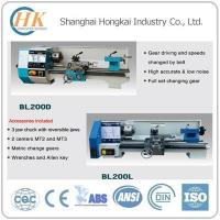 Buy cheap Metal Working Bench Lathe BL200D/BL200L from wholesalers