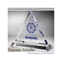 Buy cheap Prismatice diffuser sheet Crystal Acrylic Trophy With Logo product