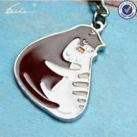Buy cheap PROMOTIONAL GIFT HOT LOVELY ANIMALS CAT KEYCHAIN KEYHOLDER product