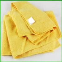 Buy cheap Wholesale Black Friday Microfiber Yellow Towel For Christmas product