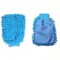 Buy cheap Single-Side Microfiber Car Wash Gloves product