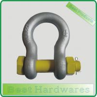 Buy cheap SHACKLE GREY COLOUR HDG US TYPE FORGED BOW SHACKLE WITH SAFETY PIN product