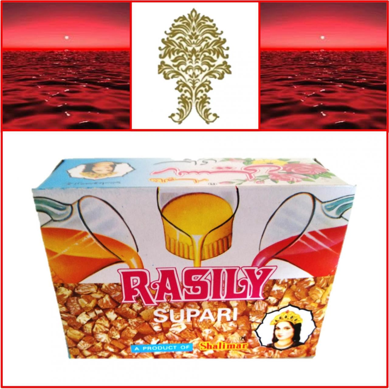 China ONE Pack. Shalimar Rasily Supari Pack. 48 pouches 96g. Export Quality!! on sale