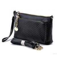 Buy cheap Black leather straps for purses bags shoulder from wholesalers