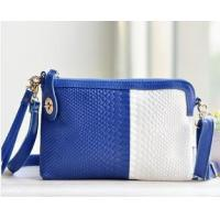 Buy cheap blue ivory leather purses sale factory from wholesalers