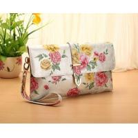 Buy cheap flower designs leather purses onsale from wholesalers