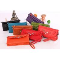 Buy cheap first layer leather purses on sale from wholesalers