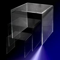 Buy cheap Countertop & Jewelry Displays 8 inch Acrylic Large U Bend Riser from Wholesalers