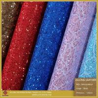 Buy cheap Special Shoe Material Flower Lace Glitter PU Leather (SP013) product