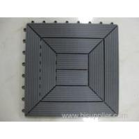 Buy cheap WPC DIY tiles Stronger and more flexible DIY WPC decking product